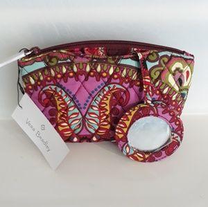 Vera Bradley Mirror Cosmetic Bag